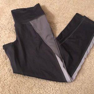 Hi waisted leggings with side pockets